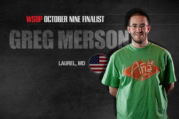 GETTING TO KNOW THE OCTOBER NINE: GREG MERSON