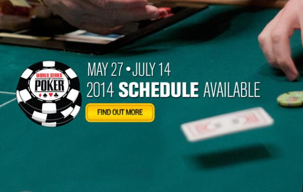 45th ANNUAL WSOP SCHEDULE ANNOUNCED WITH 65 EVENTS ON TAP