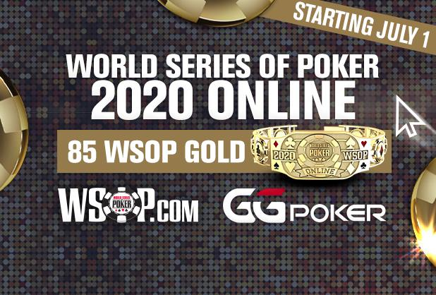 Article image for: 85 WSOP GOLD BRACELETS UP FOR GRABS THIS SUMMER IN WORLD SERIES OF POKER ONLINE TOURNAMENT