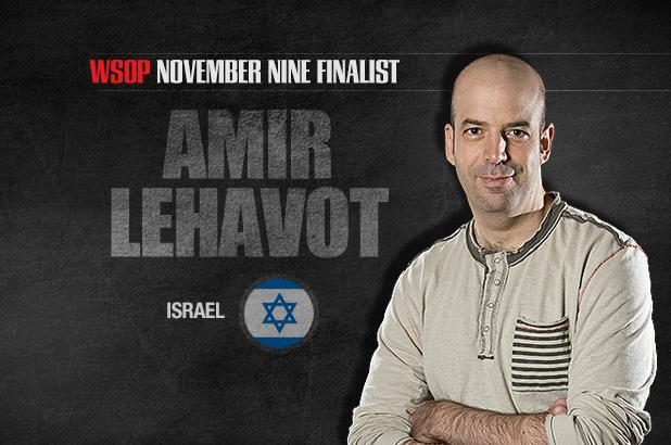 GETTING TO KNOW THE NOVEMBER NINE: AMIR LEHAVOT