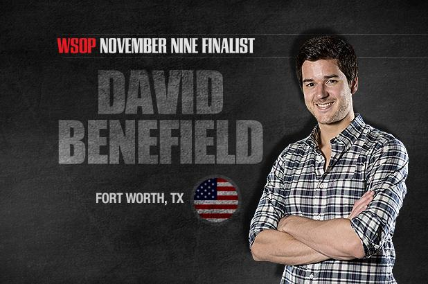 Article image for: GETTING TO KNOW THE NOVEMBER NINE: DAVID BENEFIELD