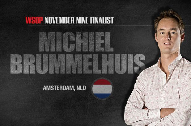 GETTING TO KNOW THE NOVEMBER NINE: MICHIEL BRUMMELHUIS