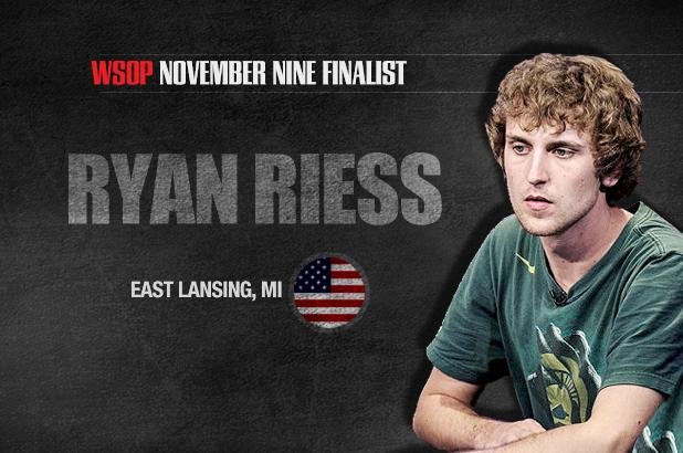 Article image for: GETTING TO KNOW THE NOVEMBER NINE: RYAN RIESS