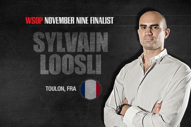 GETTING TO KNOW THE NOVEMBER NINE: SYLVAIN LOOSLI