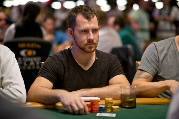 DANIEL CATES ENDS DAY 1B NEAR THE TOP OF THE COUNTS
