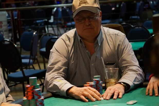 DAVID KRUGER LEADS FINAL 11 IN HORSESHOE TUNICA MAIN