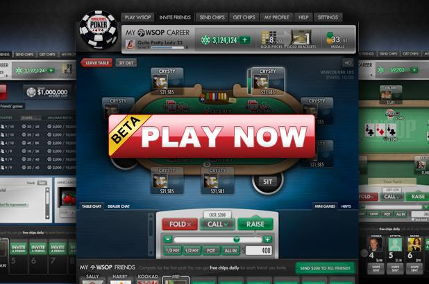 WSOP FACEBOOK POKER GAME AVAILABLE NOW!