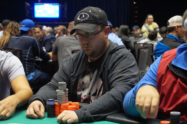 Article image for: JOSEPH TAYLOR BAGS OVERALL DAY 1 CHIP LEAD IN HARRAH'S CHEROKEE MAIN EVENT