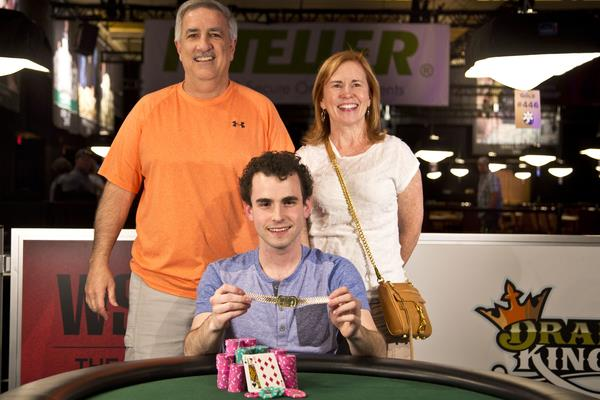 DAN KELLY EARNS SECOND BRACELET IN $1,500 LIMIT HOLD