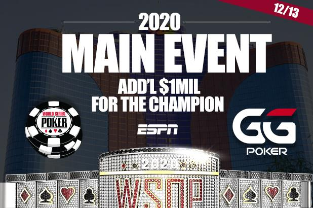 WORLD SERIES OF POKER MAIN EVENT TO RETURN