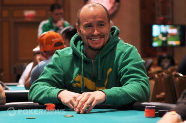 MIKE LEAH LEADS LARGE DAY 1A FIELD IN HAMMOND MAIN EVENT
