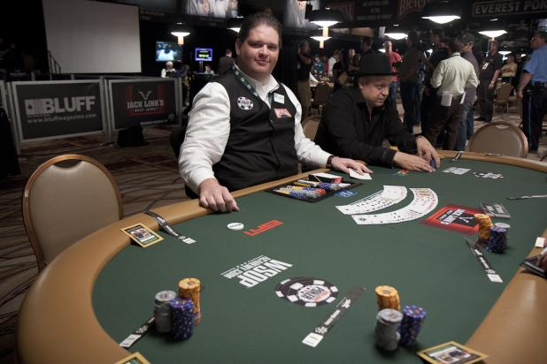 Lisandro Waits for the $50K Player