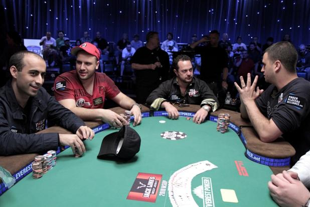 Moments Before the $50K Final Table