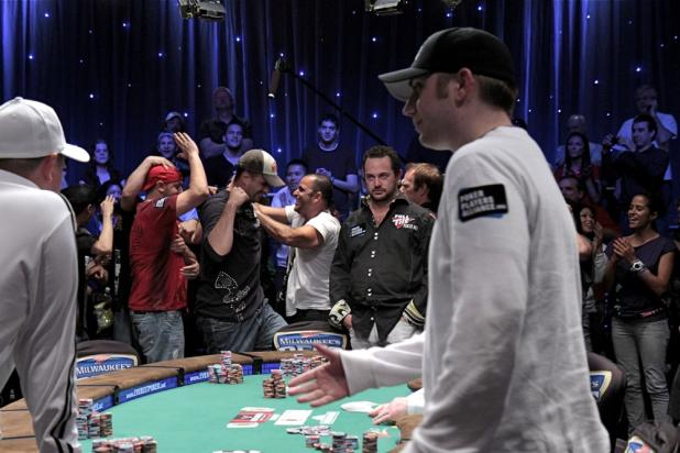 David Baker Eliminated by Michael Mizrachi