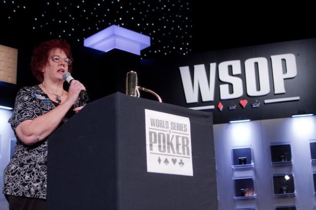 Linda Johnson Kicks Off the WSOP Ladies Event