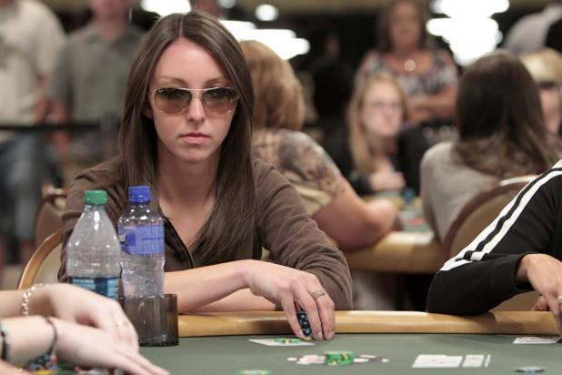 Poker Hostess Jacque Williams