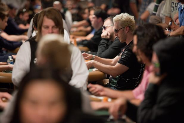 Round One of the $10,000 Heads-Up Event