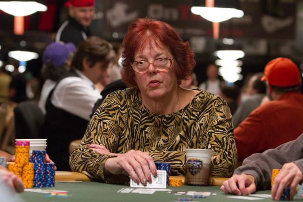 Linda Johnson in the Money of Event #31