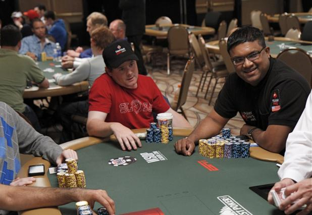 Victor Ramdin and Phil Ivey Play Two Events