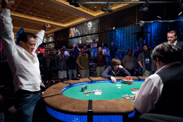 Men Nguyen Doubles Up To Even the Stacks