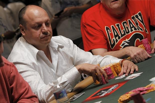 Reigning WSOP Player of the Year Jeffrey Lisandro