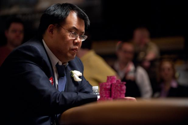 Bill Chen Takes the Lead Into Heads-Up Play