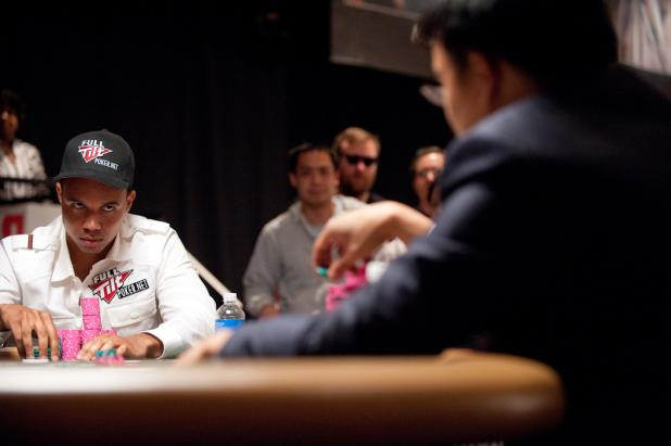 Phil Ivey Fears No Chip Lead