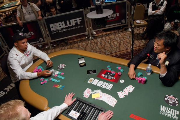 Bill Chen Scoops a Pot in Omaha Hi-Lo