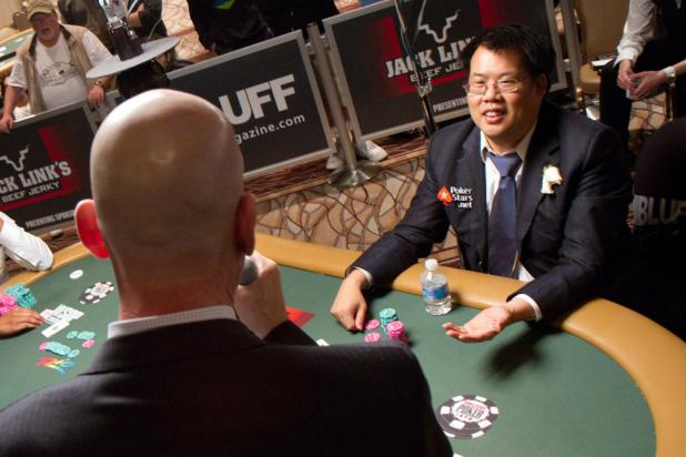 Final Hand: Bill Chen Asks If There Is a Cap on Reraises