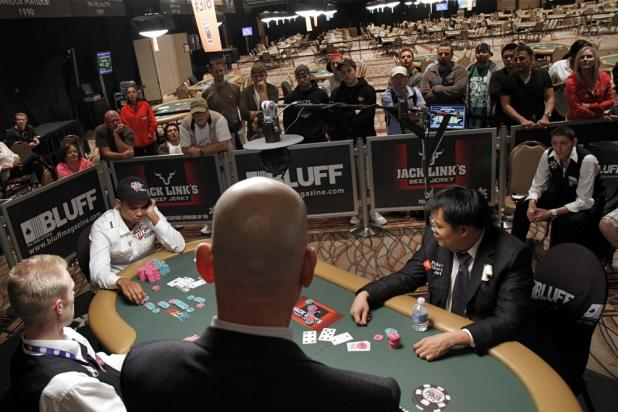Final Hand: Heavy Action on Fifth Street
