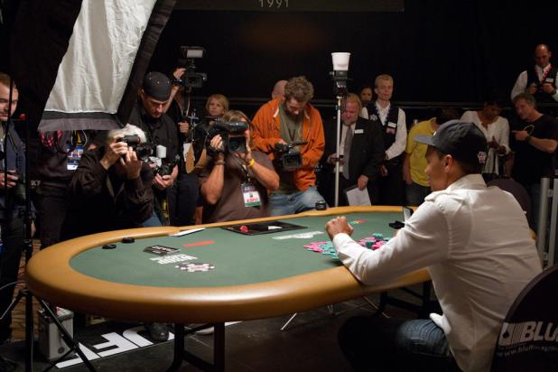 Media Swarm For Phil Ivey