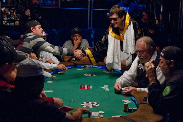 Hellmuth Introduces Himself to the Table