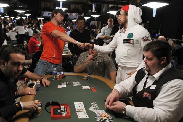 Joe Reitman Doubles Up With a Fist Bump