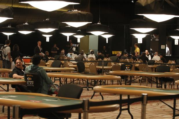 Final Two Tables in the Pavilion Room