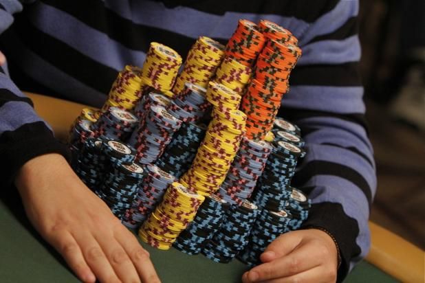 Article image for: THE MONEY BUBBLE HAS BURST - 574 PLAYERS REMAIN IN THE 2010 WSOP MAIN EVENT