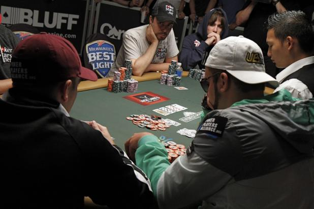 Three-Way Pot on the Turn