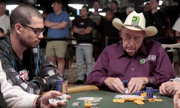 Nick Schulman vs. Doyle Brunson