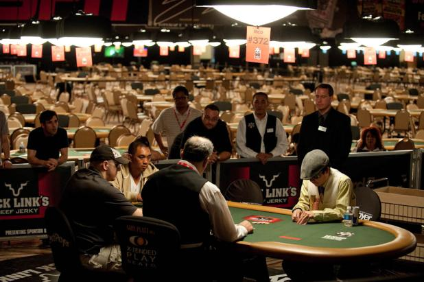 Final Three Players of Event #1