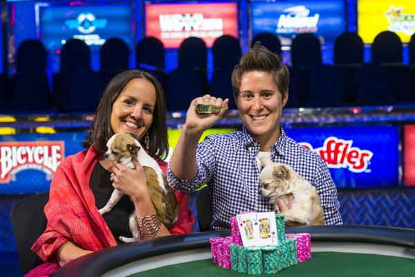 VANESSA SELBST CEMENTS HER STATUS AS ONE OF THE BEST WITH THIRD BRACELET WIN