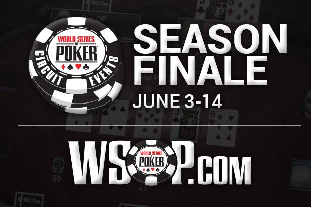 WSOPCOM CIRCUIT SEASON FINALE SET TO TAKE PLACE JUNE 3-14 WITH WHOPPING 13 SPOTS IN GCC