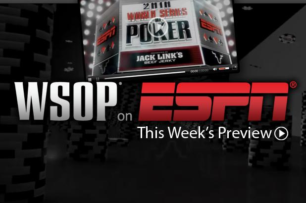 Article image for: TONIGHT ON ESPN: ACTION HEATING UP ON 2010 WSOP MAIN EVENT COVERAGE.