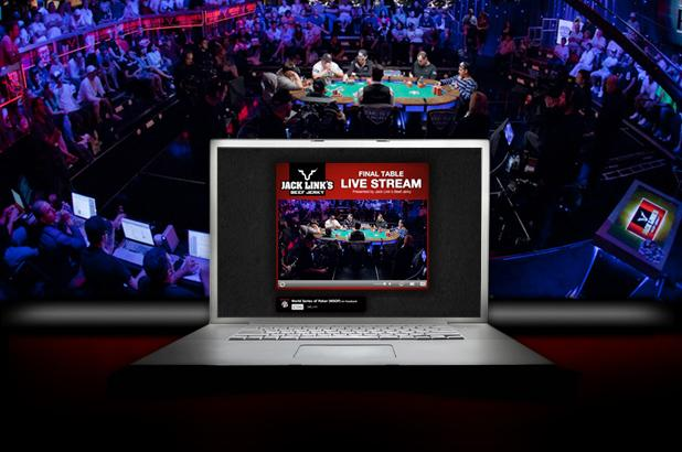 WSOP.com to LIVE WEB STREAM 60 WSOP GOLD BRACELET FINAL TABLES