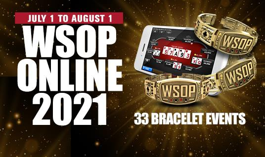 WSOP.COM ANNOUNCES WSOP ONLINE 2021 DOMESTIC SCHEDULE