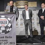 Ty Stewart with Bernd Platrich and Marcel Langner from Spielbank Berlin