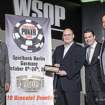 Jack Effel and Ty Stewart with Bernd Platrich and Marcel Langner from Spielbank Berlin