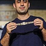 Daniel Alaei bracelet ceremony