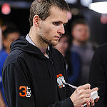 WSOP Tournament Reporter Adam Sharples