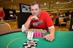 John Dever, winner of Circuit Event #8 at Harrah's Resort Atlantic City