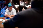 Harold Angle at the final table of event #34