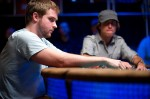 Dean Hamrick at the final table of event #42